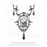 Catoptrauma Pewter Necklace by Alchemy Gothic