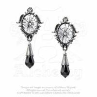 Catroptrauma Mirror Effect Earrings by Alchemy Gothic