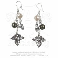 Poison Ivy Earrings by Alchemy Gothic
