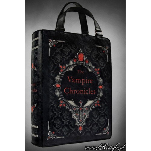 Home 187 black vampire chronicles gothic book shaped bag by restyle