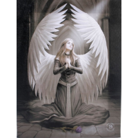 Anne Stokes Prayer for the Fallen Printed Canvas