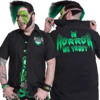 Black Horror Cadet Workshirt by Kreepsville 666