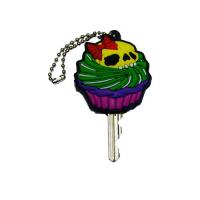 Cupcake Skull Key Cap by Kreepsville 666