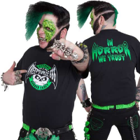 Horror Cadet Short Sleeved T-Shirt by Kreepsville 666