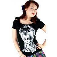 Too Fast Ladies Off the Shoulder T-Shirt with ties Amadeus Design